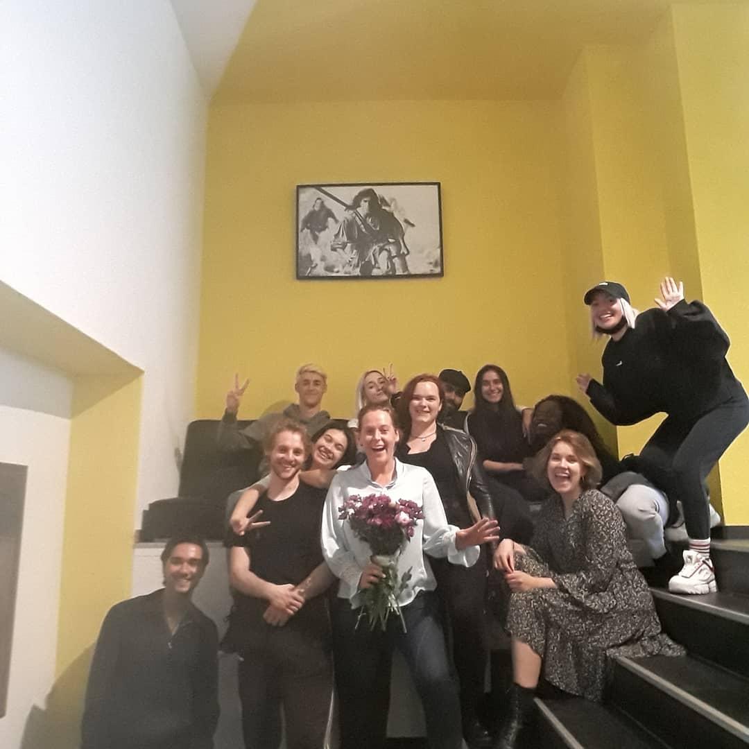 Paulas Workshop mit Acting Students in Köln